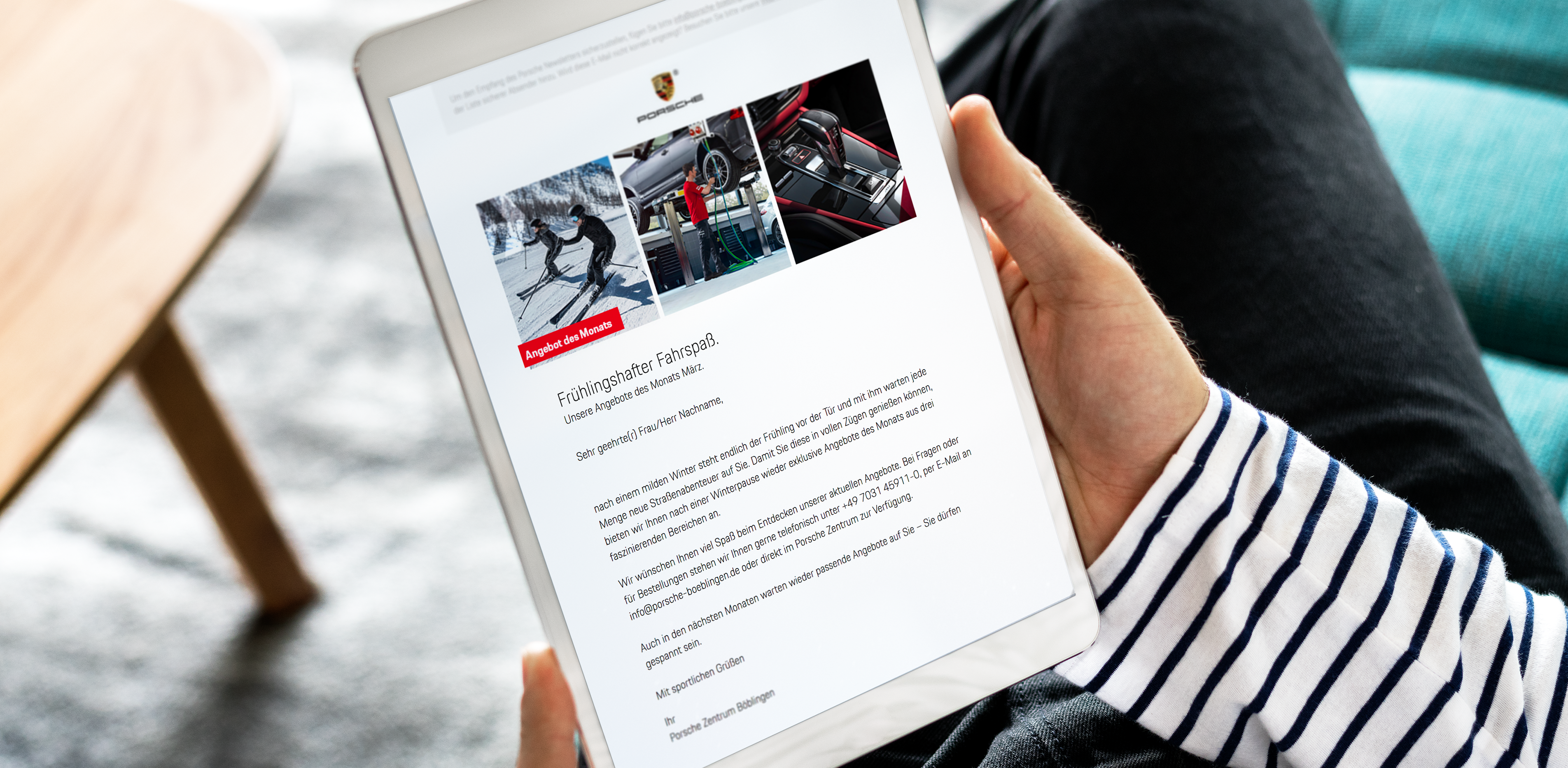 360° ALL-ROUND SUPPORT - The Porsche Centres of the Hahn Group